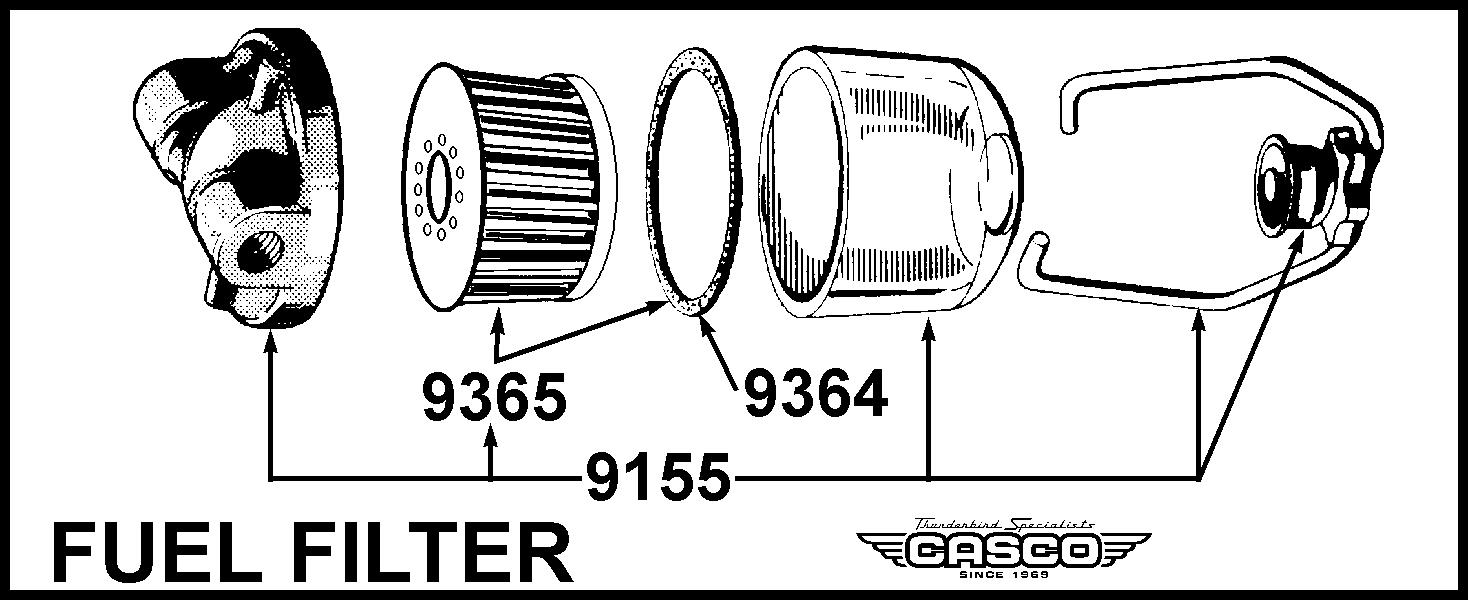 strainer - fuel filter - paper