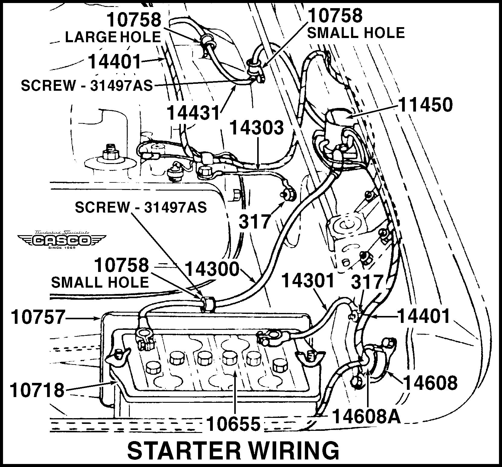 retainer - cowl main wiring grommet