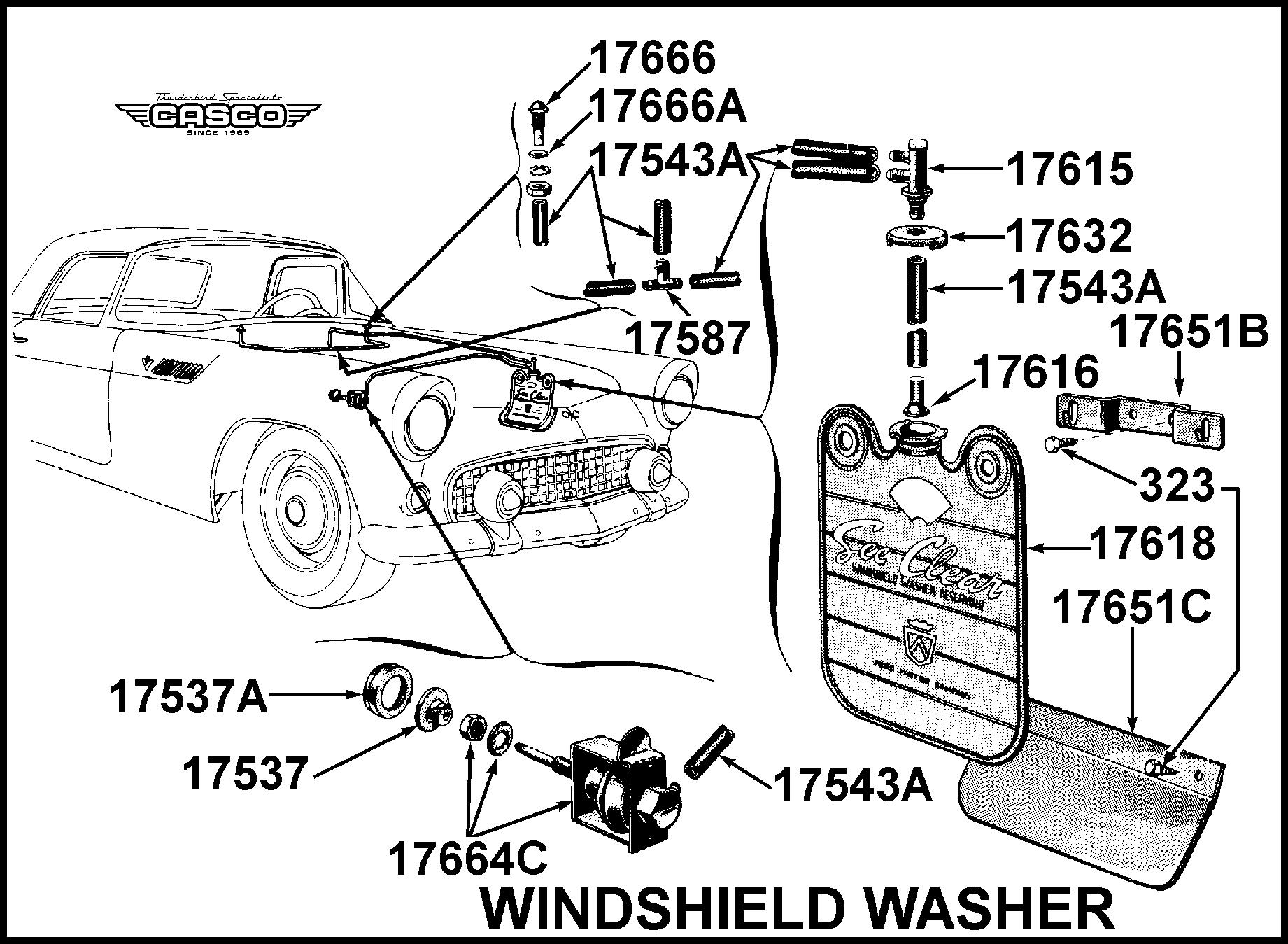 holder only - washer bag