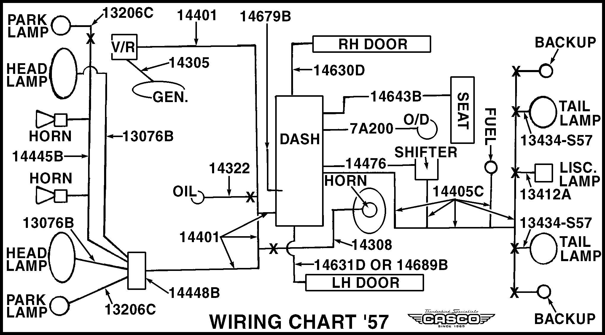 Junction Block Double Stack 55 57 1 Per Car Wiring Images Wiringchart