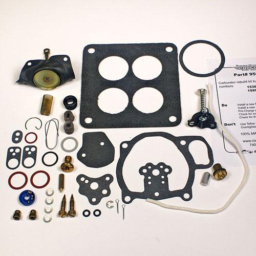 Complete Carburetor Rebuild Kit - 57 - Supercharged - 1 Per car