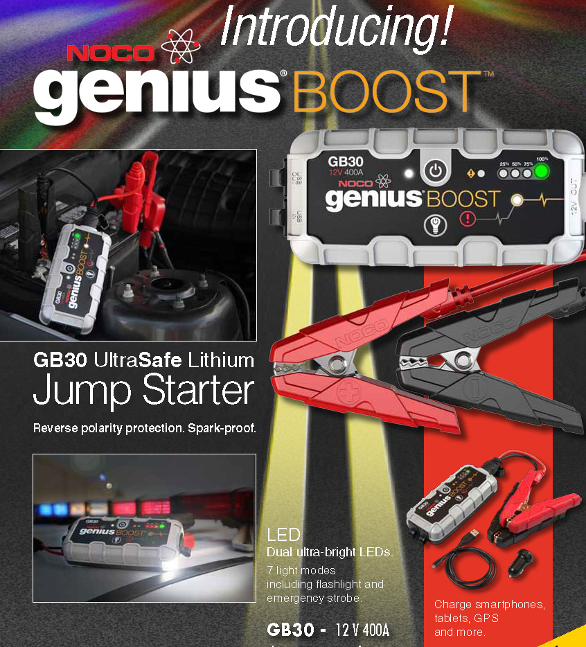 Battery Jump Pack by Genius